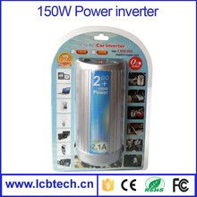 New arrival 150W Car power inverter with car charger supplying oxygen function