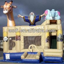 noahs ark 3 n 1 inflatable bounce slide combo