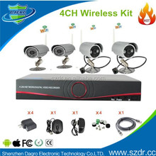 2015 HOT New 4CH Wifi NVR Kit Hd Video Alarm Systems Security Home Nvr Kit
