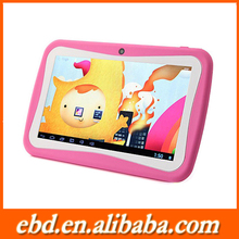 Bulk wholesale android custom manufacture OEM easy touch colorful 7 inch kids tablet
