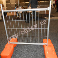 Steel Metal Type and Easily Assembled Feature Temporary Movable Fence