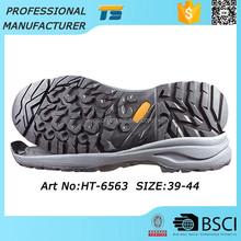 Hot Sale Eco-Friendly Shoe Sole Company Men Trekking Eva Driving Shoe Sole Synthetic Rubber, Latex Shoe Sole