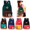 2015 leisure women point canvas school bag lash package school bags very young models for lady school backpack