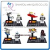 Mini Qute Senye 4pcs/set Star war Chariot cars boys kids model building block action figures educational toy NO.SY 212