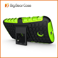 Multi-function with kickstand hybrid mobile phone case for Moto E