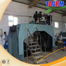 Poultry manure compost processing manchinery best sale compost waste turning machine