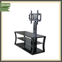 Advertising picture of iron tv stand uses of iron stand RN1206