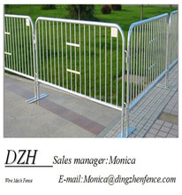 Powder coated and galvanized outerdoor temporary fence barricade, alibaba china supplier 6ft,temporary fence export to Australia