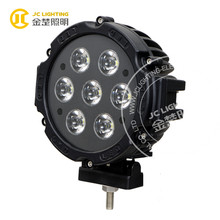 Newest 12 volt truck led working lamp 7 inch 70W Cree led light auto for 4WD, SUV, UTV, truck, off road vehicle