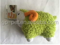 Beautiful goat plush dog toys with reasonable price (Factory )