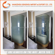 colorful waterproof switchable smart glass film supper glass/normal glass glass/temper glass