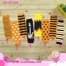 2015 Wholesale Halloween newborn leg warmers infant knitting leg warmers cotton leg warmer