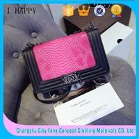 2015 new handbags Korean female fashion multicolor shoulder bags