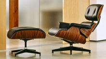 High Quality Genuine Leather Charles Eames Lounge Chair With Ottoman Replica