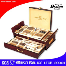New style stainless steel cutlery sets as wedding gifts cutlery stainless steel tableware sets