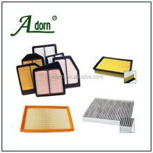 High Performance car activated carbon air filter,auto air filter, car air filter