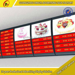 OEM customized solar power advertising display
