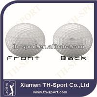 2 piece promotion white golf range ball