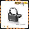 High quality alarm padlock/ 110db high security sensor lock