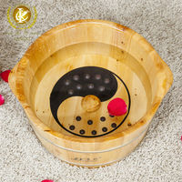 best Halloween gift wooden soak basin for your friends,kx-305