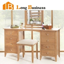 LB-DD5024 China made solid wood dresser with mirror