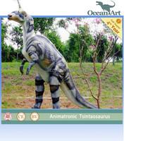 Outdoor Dino Park Animatronics Alive Dinosaur