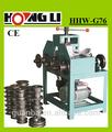 Hhw-g76 eléctrico de acero inoxidable tubo/máquina para doblar tubos cuadrados/tubo redondo