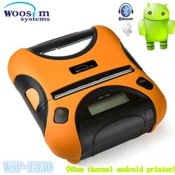 3 inch handheld mobile thermal android ios bluetooth printer Woosim WSP-I350 for Iphone
