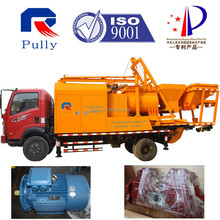 large capacity mobile truck concrete mixer pump hot sale
