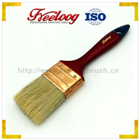 High durability excellent quality Solid Plastic handle cover 80mm paint brush set