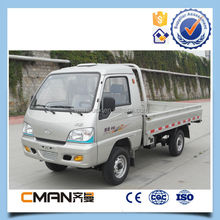China strong quality T-King brand 4x2 light mini truck 0.5t to 2t diesel or gasoline type for choic
