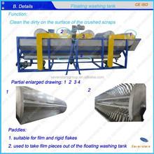 waste plastic film recycling line/film washing line/ film washing machine