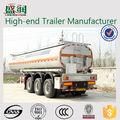Shengrun marca 3-Axle 40CBM petrolero del combustible / aceite Diesel camión de transporte Semi remolque tanque venta