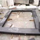 Mongólia granito preto moldura da porta moldura da janela