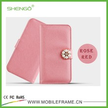 Newest Lovely Style Leather Phone Case for iPhone 6 Plus