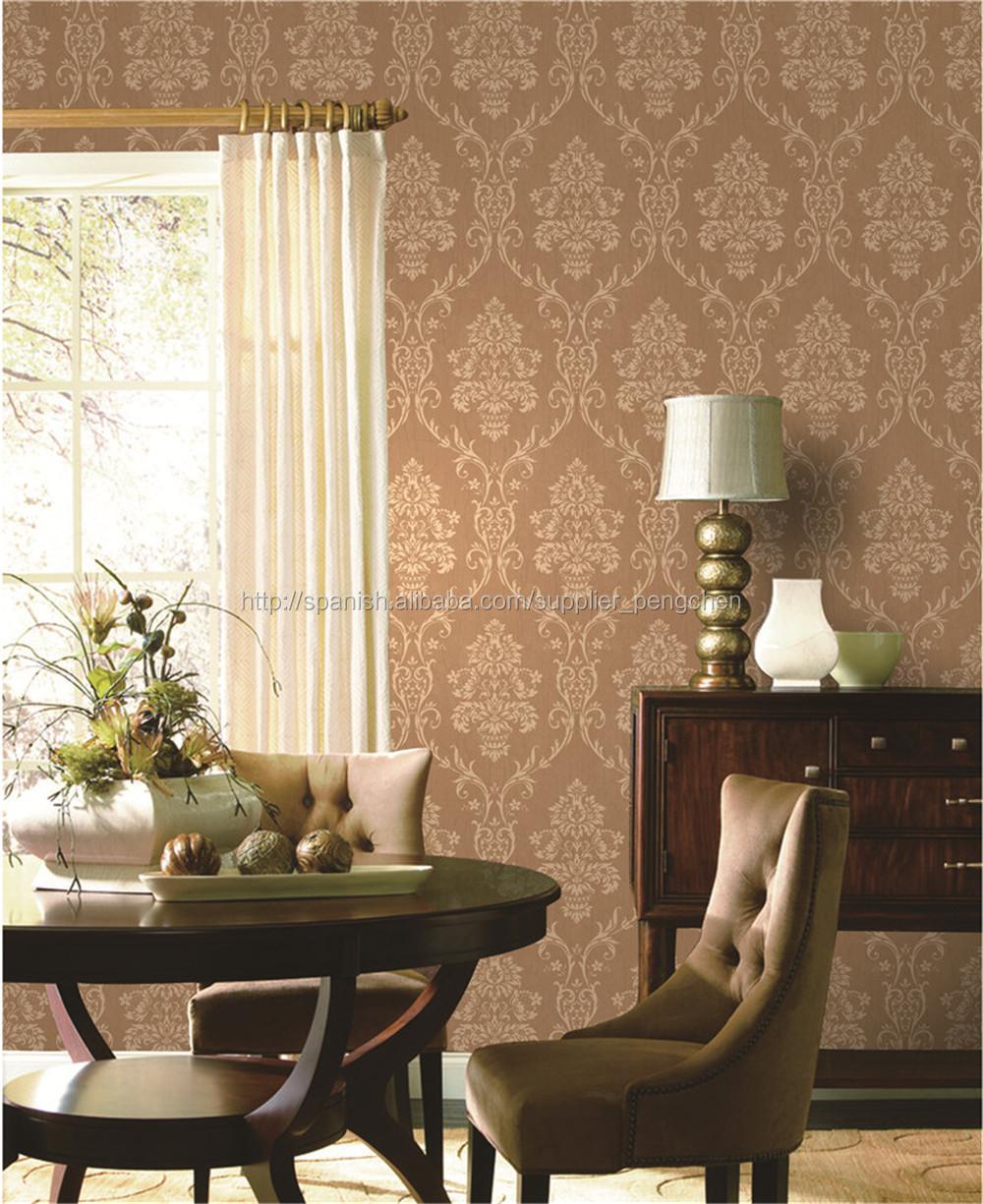 barato papel tapiz para pared vinilo papel de pared
