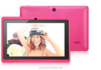 7 inch tablet for kids tablet android 4.4 dual core 512m 4G multi color