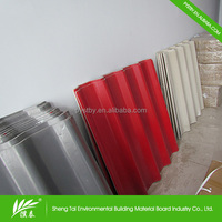Top Quality high stength large corrugated plastic roofing sheets