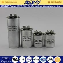 2015 ADMY Hot Sale air conditioner capacitor factory price
