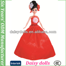 pulgadas 12 hermosa niña de la muñeca