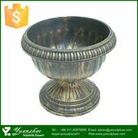 Garden small antique handmade indian brass copper vase
