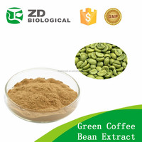 chlorogenic acid 50%,pure green coffee beans extract,slim green coffee