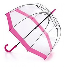 Nice design rain transparent umbrella for girls