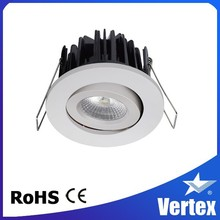 cob dimmable and hot sale led downlight 38 degree beam angle