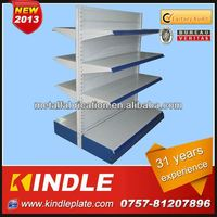 Custom Heavy duty usa supermarket shelf with 31 Yeasr Experience Factory