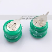 Welcome to inquiry NI-MH 2.4V 40mAH rechargeable button cell battery pack