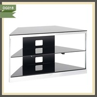 new design home furniture modern tv stand glass showcase DG018