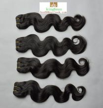 women color hair weft fashion and beauty soft hair 5a high quality virgin remy human hair extension