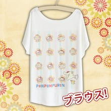 New Sweet Foods Fashionable Loose and Comfortable High Quality Spring and Summer Tshirt Free Size KK507