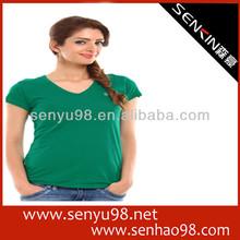 european style women's tshirt slim fit short sleeve 2014 new design
